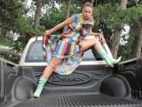 EXCLUSIV: Vedete si masini-Carmen Plesea si sarpele KAA12608