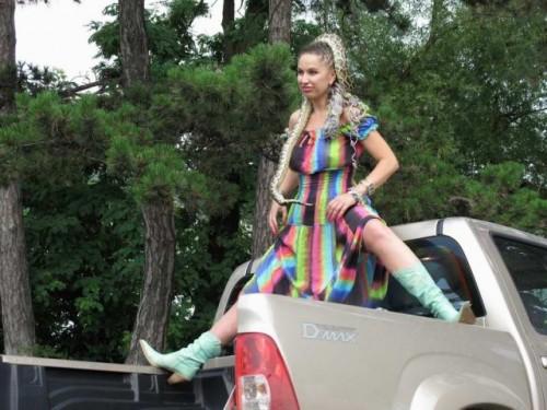 EXCLUSIV: Vedete si masini-Carmen Plesea si sarpele KAA12610