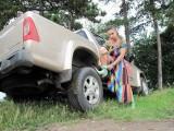 EXCLUSIV: Vedete si masini-Carmen Plesea si sarpele KAA12607