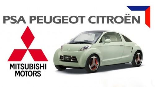 Peugeot-Citroen si Mitsubishi au incheiat un parteneriat pe segmentul hibrizilor12604