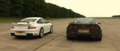 VIDEO: Porsche 911 GT2 vs Corvette ZR-112563