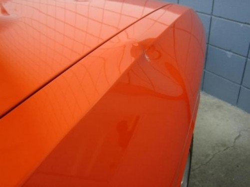 Challenger SRT8 distrus cu ciocanul12523