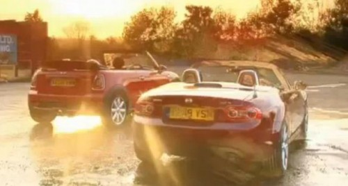 VIDEO: Mini Cooper S Cabrio vs Mazda MX512480