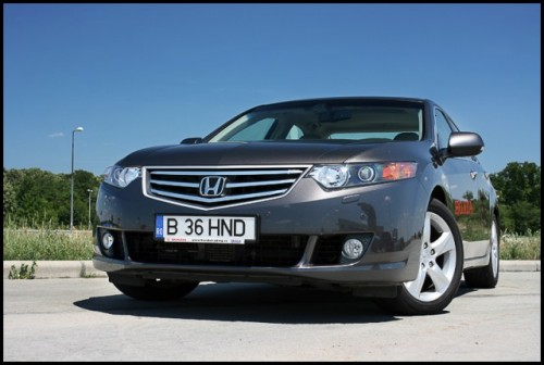 Am testat Honda Accord!12451