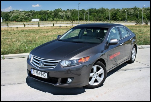 Am testat Honda Accord!12453
