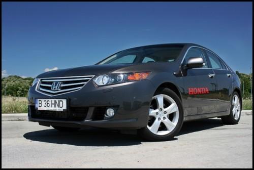 Am testat Honda Accord!12455