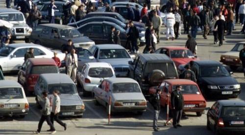La Targul auto din Sibiu nu s-a vandut nicio masina12426