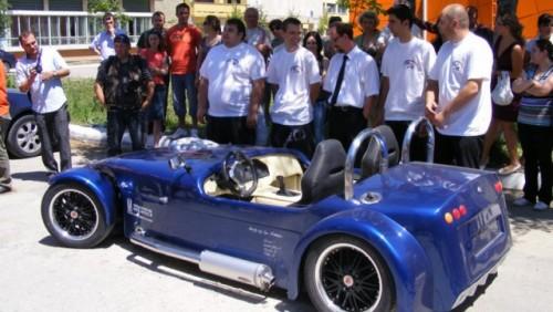 Studentii ieseni au creat primul roadster romanesc12143