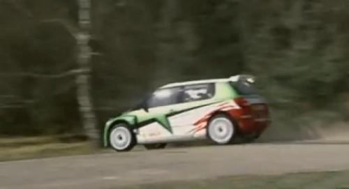 VIDEO: Skoda Fabia S200, masina de raliu12082