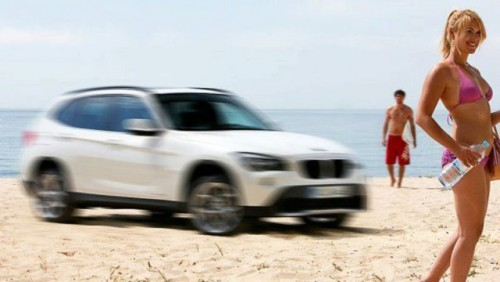BMW a facut public un nou teaser cu X112022