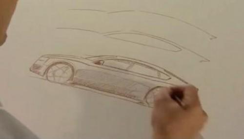 VIDEO: Designerul-sef Audi deseneaza noul A5 Sportback12020
