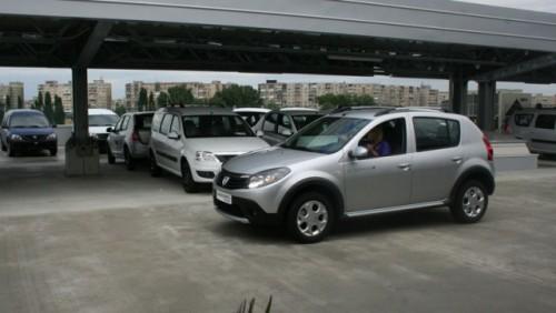Dacia Sandero Stepway, in Romania de la 9.200 euro cu TVA12008