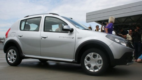 Dacia Sandero Stepway, in Romania de la 9.200 euro cu TVA12011