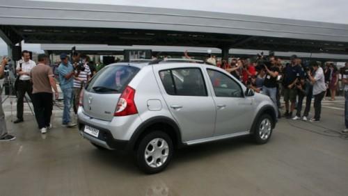 Dacia Sandero Stepway, in Romania de la 9.200 euro cu TVA12013