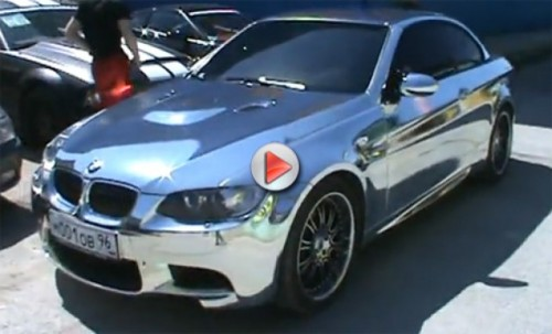 VIDEO: BMW M3 cromat11895