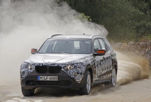 Oficial: Viitorul BMW X1 in versiune camuflata11509