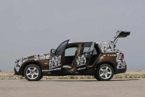 Oficial: Viitorul BMW X1 in versiune camuflata11519
