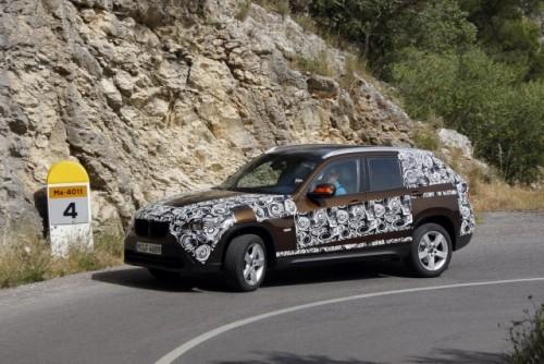 Oficial: Viitorul BMW X1 in versiune camuflata11526