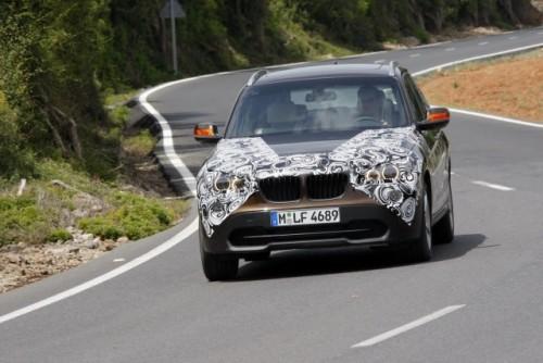 Oficial: Viitorul BMW X1 in versiune camuflata11530