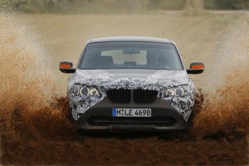 Oficial: Viitorul BMW X1 in versiune camuflata11544