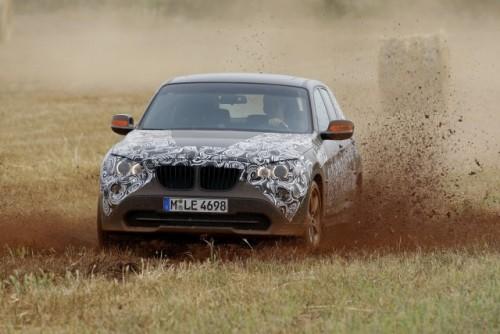 Oficial: Viitorul BMW X1 in versiune camuflata11545