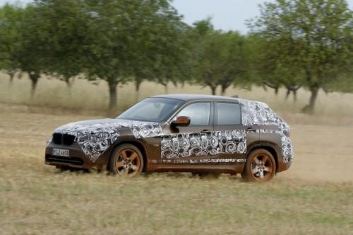 Oficial: Viitorul BMW X1 in versiune camuflata11547