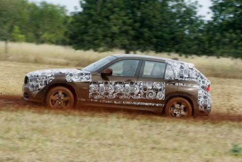 Oficial: Viitorul BMW X1 in versiune camuflata11549
