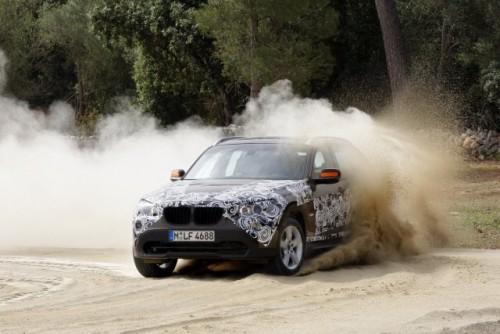 Oficial: Viitorul BMW X1 in versiune camuflata11554