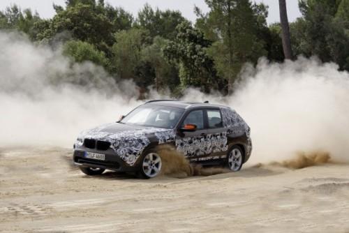 Oficial: Viitorul BMW X1 in versiune camuflata11556