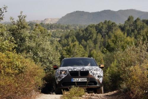 Oficial: Viitorul BMW X1 in versiune camuflata11557