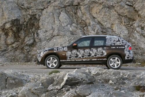 Oficial: Viitorul BMW X1 in versiune camuflata11561