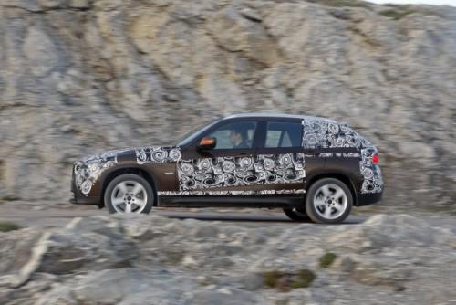 Oficial: Viitorul BMW X1 in versiune camuflata11562