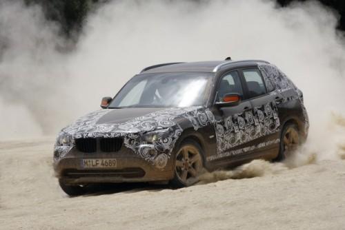 Oficial: Viitorul BMW X1 in versiune camuflata11565