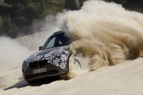 Oficial: Viitorul BMW X1 in versiune camuflata11569