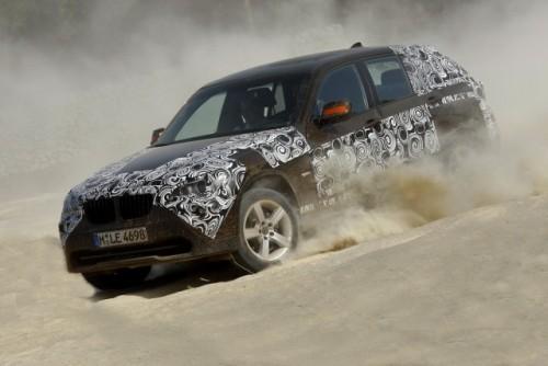 Oficial: Viitorul BMW X1 in versiune camuflata11572