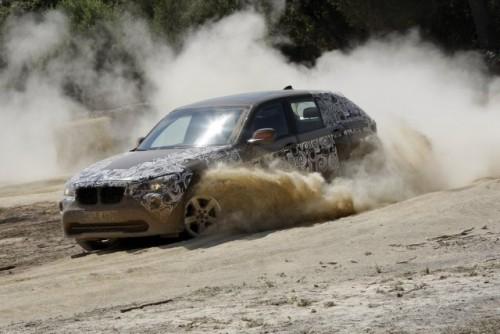 Oficial: Viitorul BMW X1 in versiune camuflata11575