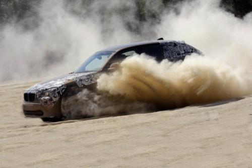 Oficial: Viitorul BMW X1 in versiune camuflata11576