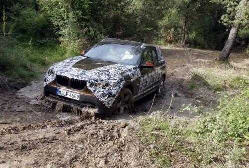 Oficial: Viitorul BMW X1 in versiune camuflata11577