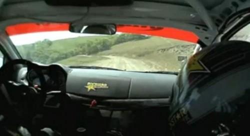 VIDEO: Senzatii la raliu dintr-un Mitsubishi EVO X11389