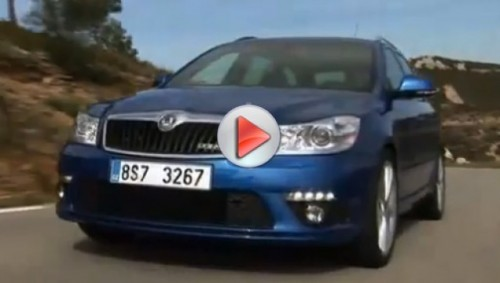 Video cu Skoda Octavia RS facelift11335