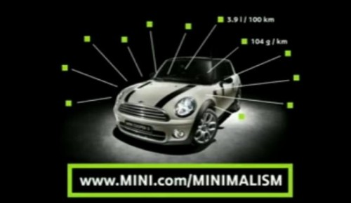 VIDEO: Mini exploateaza minimalismul11206