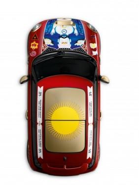 Un Mini Cooper unic dedicat lui George Harrison11119