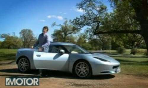 VIDEO: Primul test cu Lotus Evora11091