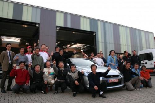 Nissan GT-R a doborat recordul de la Nurburgring11087