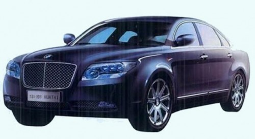 Chinezii de la Huatai Group lucreaza la o clona de Bentley Continental10808