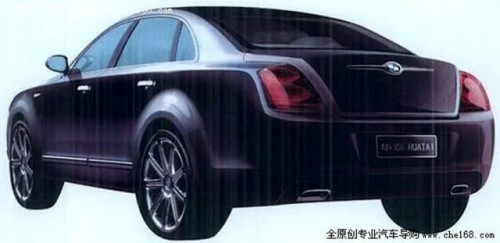 Chinezii de la Huatai Group lucreaza la o clona de Bentley Continental10811