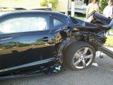 Un Chevrolet Camaro SS nou a fost distrus10774