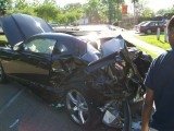 Un Chevrolet Camaro SS nou a fost distrus10775
