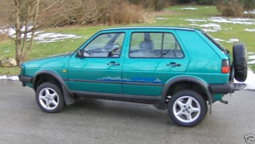 Un Golf off-road gasit pe eBay10747