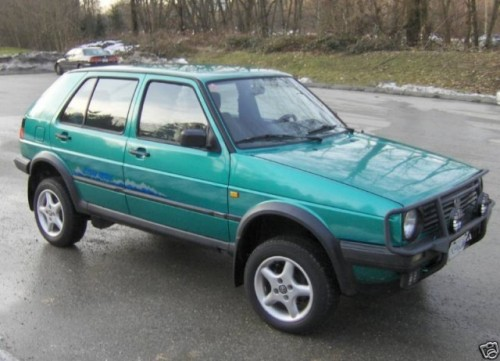Un Golf off-road gasit pe eBay10751